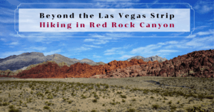 Beyond the Las Vegas Strip–Hiking in Red Rock