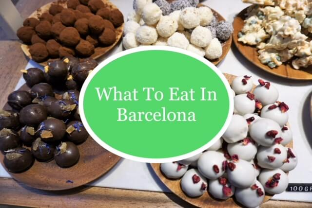 What to eat in Barcelona