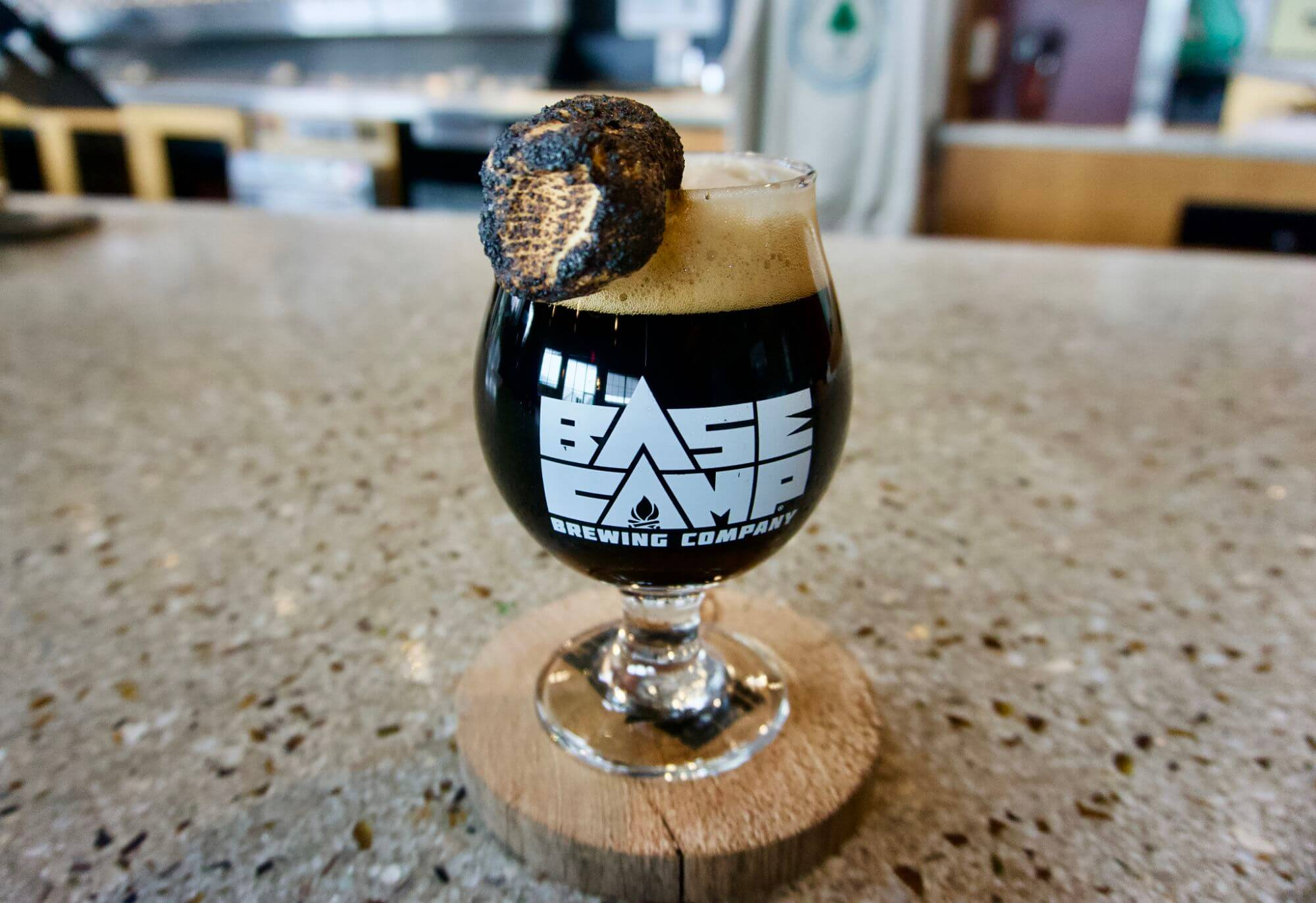 S'Mores Stout at Basecamp Brewing
