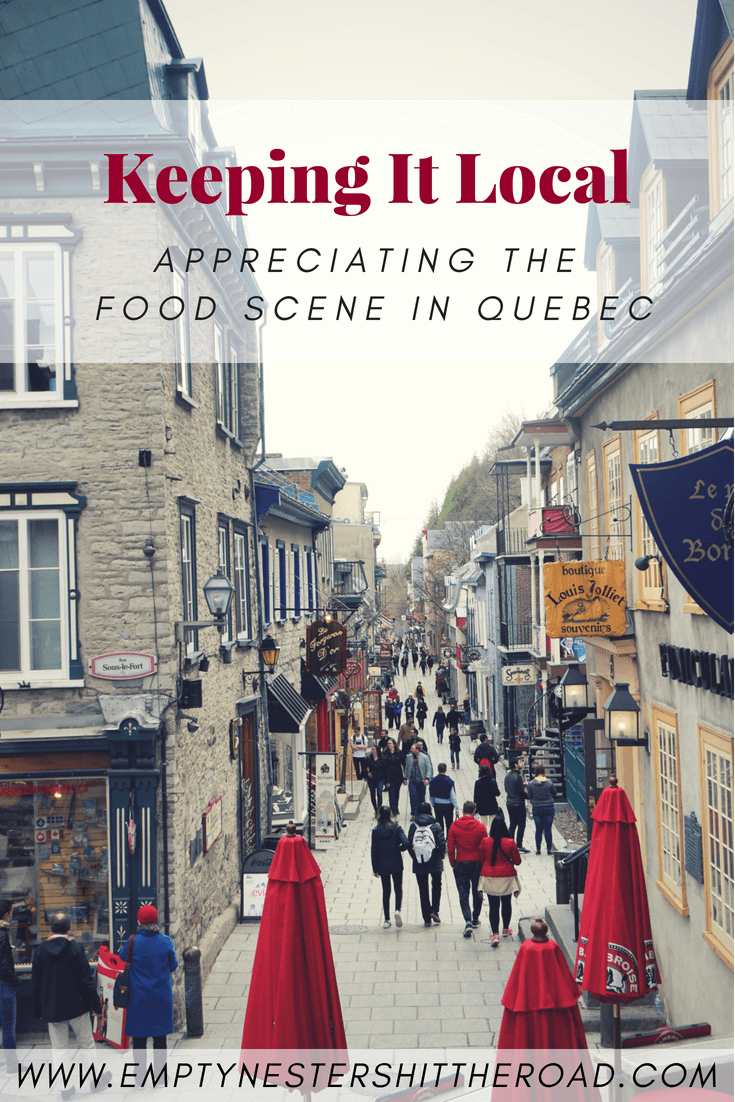 Quebec City offers visitors great food options and impressive restaurants. From poutine to maple syrup, and beer to cidre. The cuisine in this region is delicious! #QuebecRegion