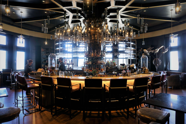 1608 cocktail bar in Fairmont Le Chateau de Frontenac