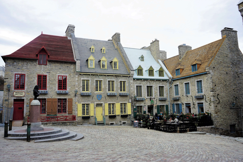 La Place Royale In Quebec City, Canada