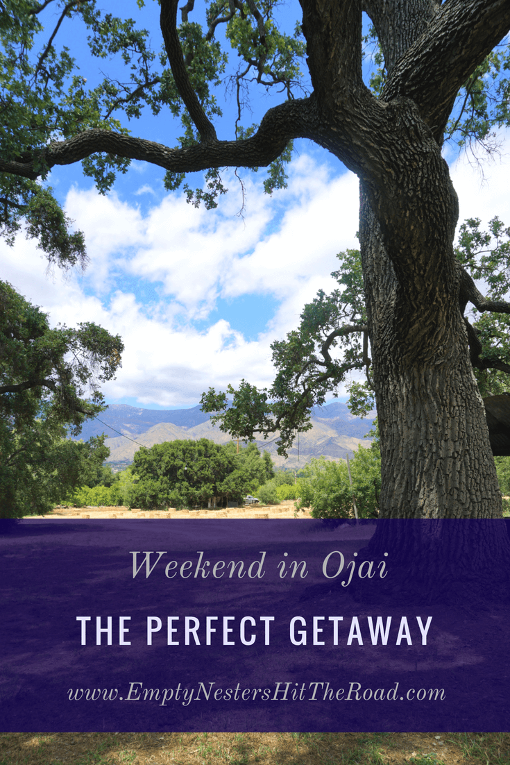 Looking for a great location for a weekend getaway? Then consider Ojai California. Whether you enjoy hiking, biking, shopping or wine tasting, this place has it all!