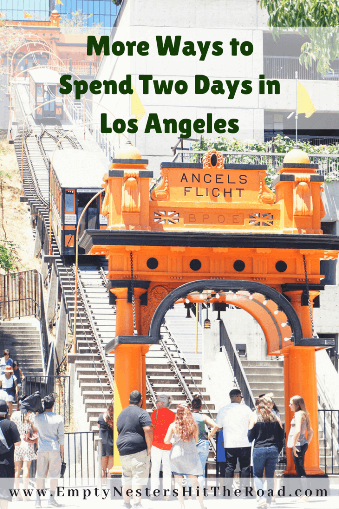 More Ways To Spend Two Days in Los Angeles--Photo of Angels Flight in Los Angeles