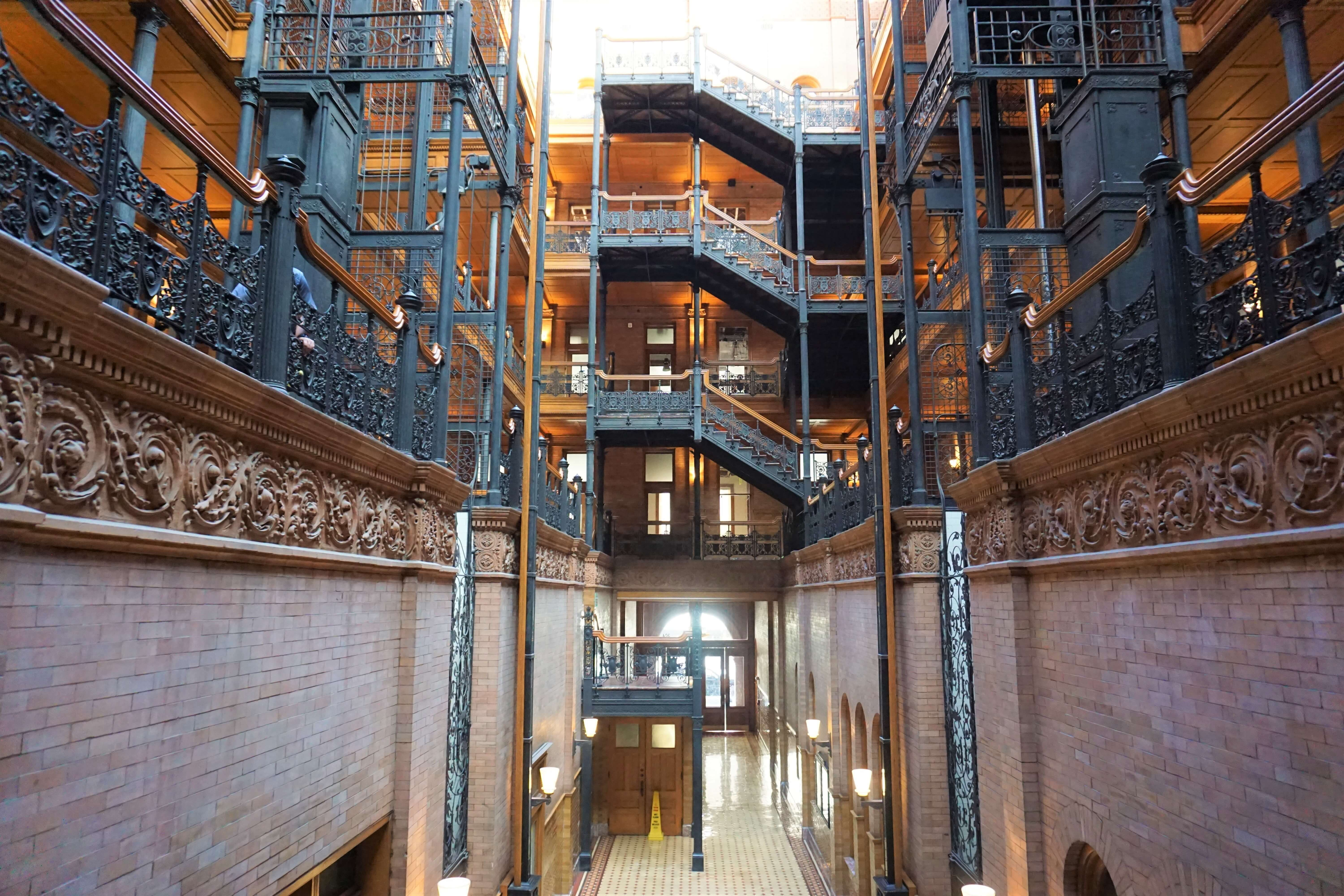 The Bradbury Building Los Angeles