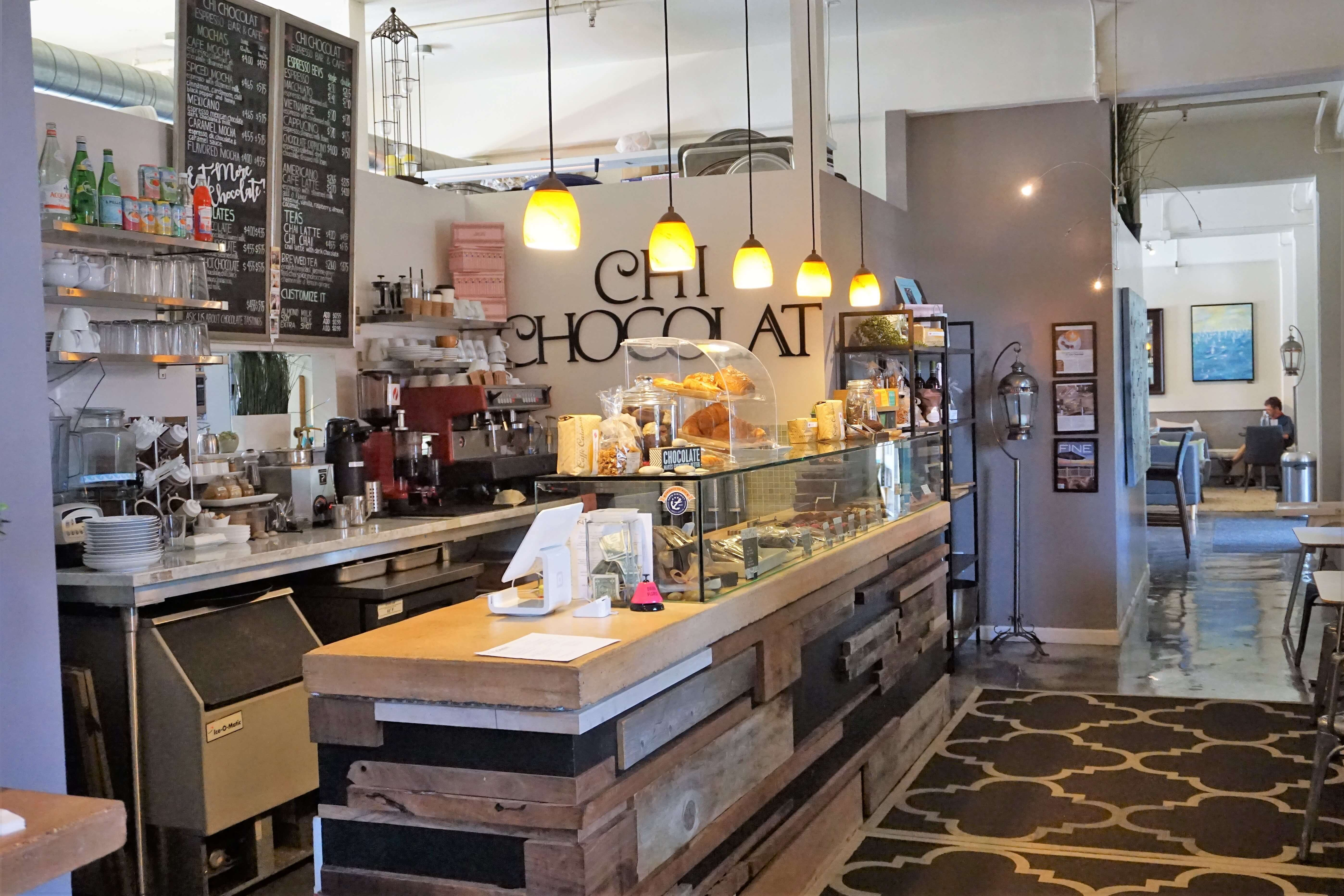 Chi Chocolat, a great place to stop for a sweet bite
