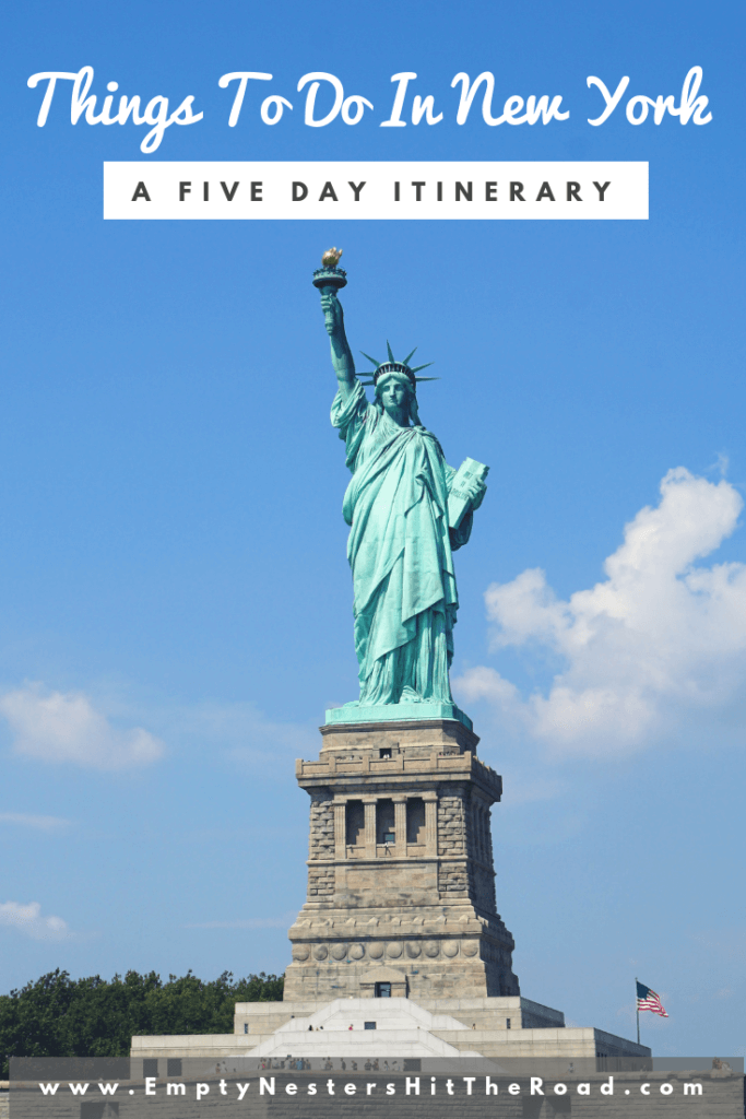 New York itinerary 5 days