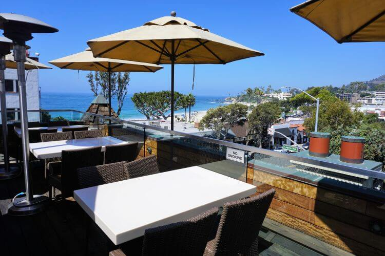 Enjoy happy hour in Laguna Beach at Skyloft