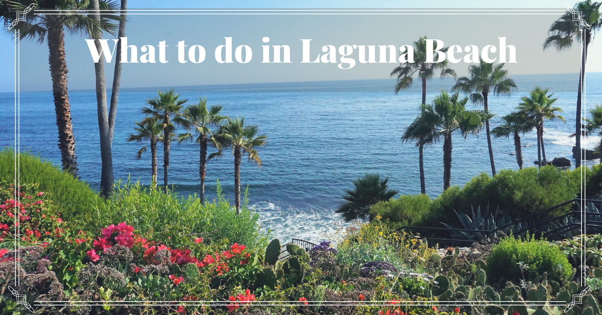 What To Do In Laguna Beach All The Highlights Of This