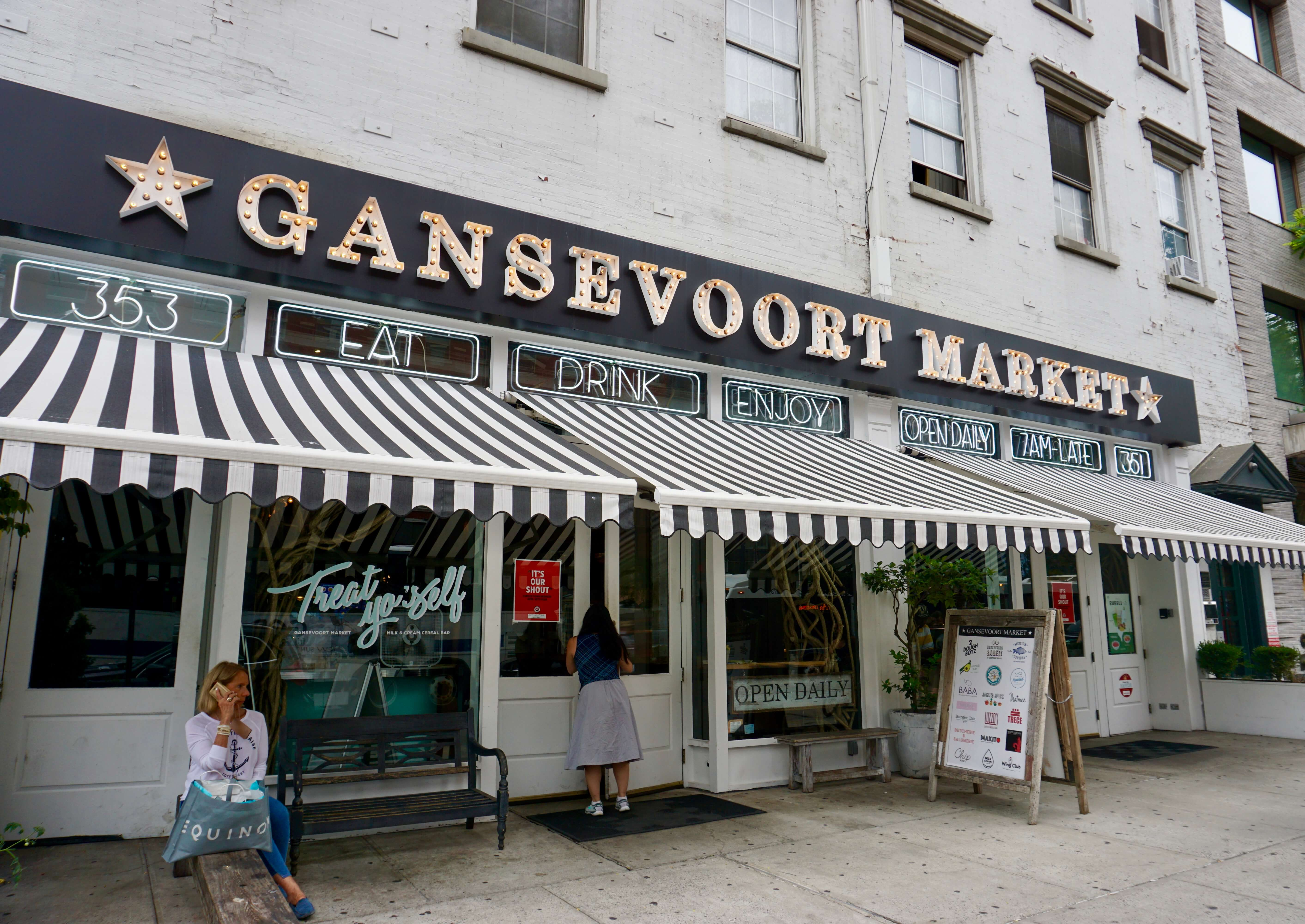 Gansevoort Market in Chelsea