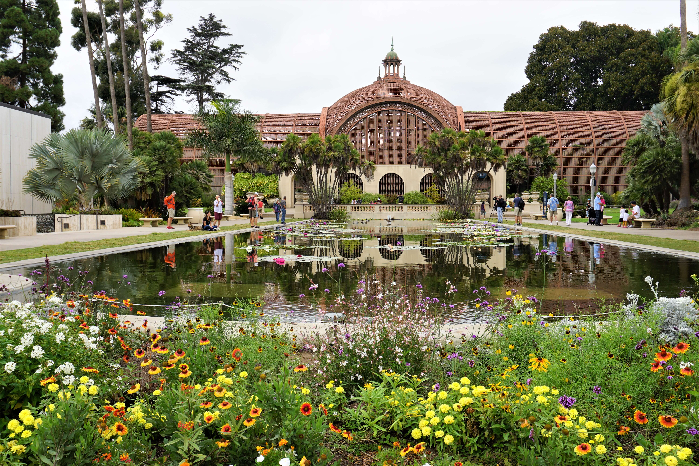 Botanical Building Balboa Park, San Diego
