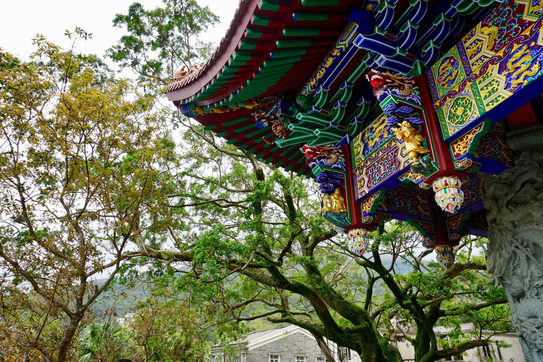 Po Lin Monastery on Lantau Island