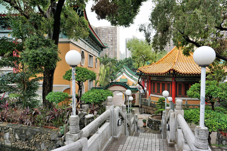Good Wish Garden adjacent to Wong Tai Sin Temple