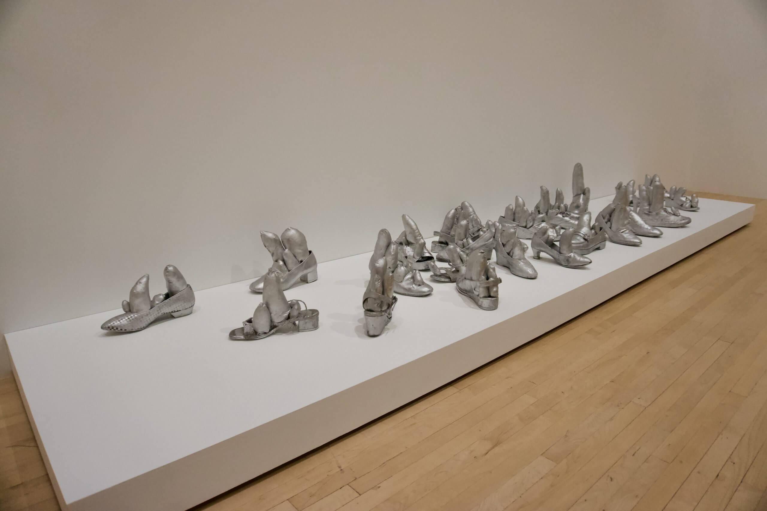 Silver Shoes at MOCA