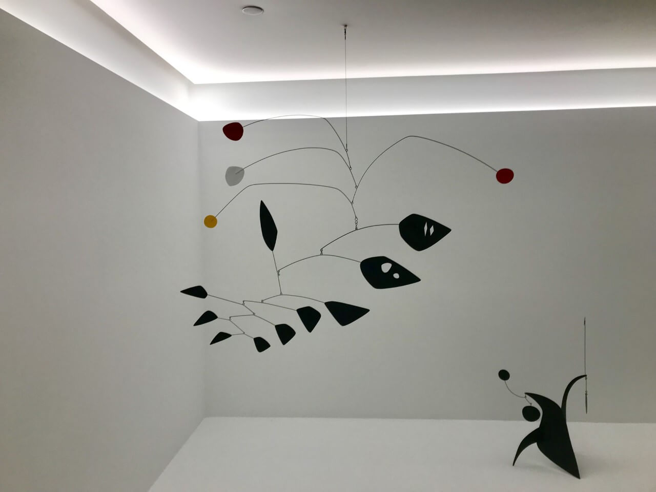 Sculpture by Alexander Calder at Hauswer & Wirth Los Angeles
