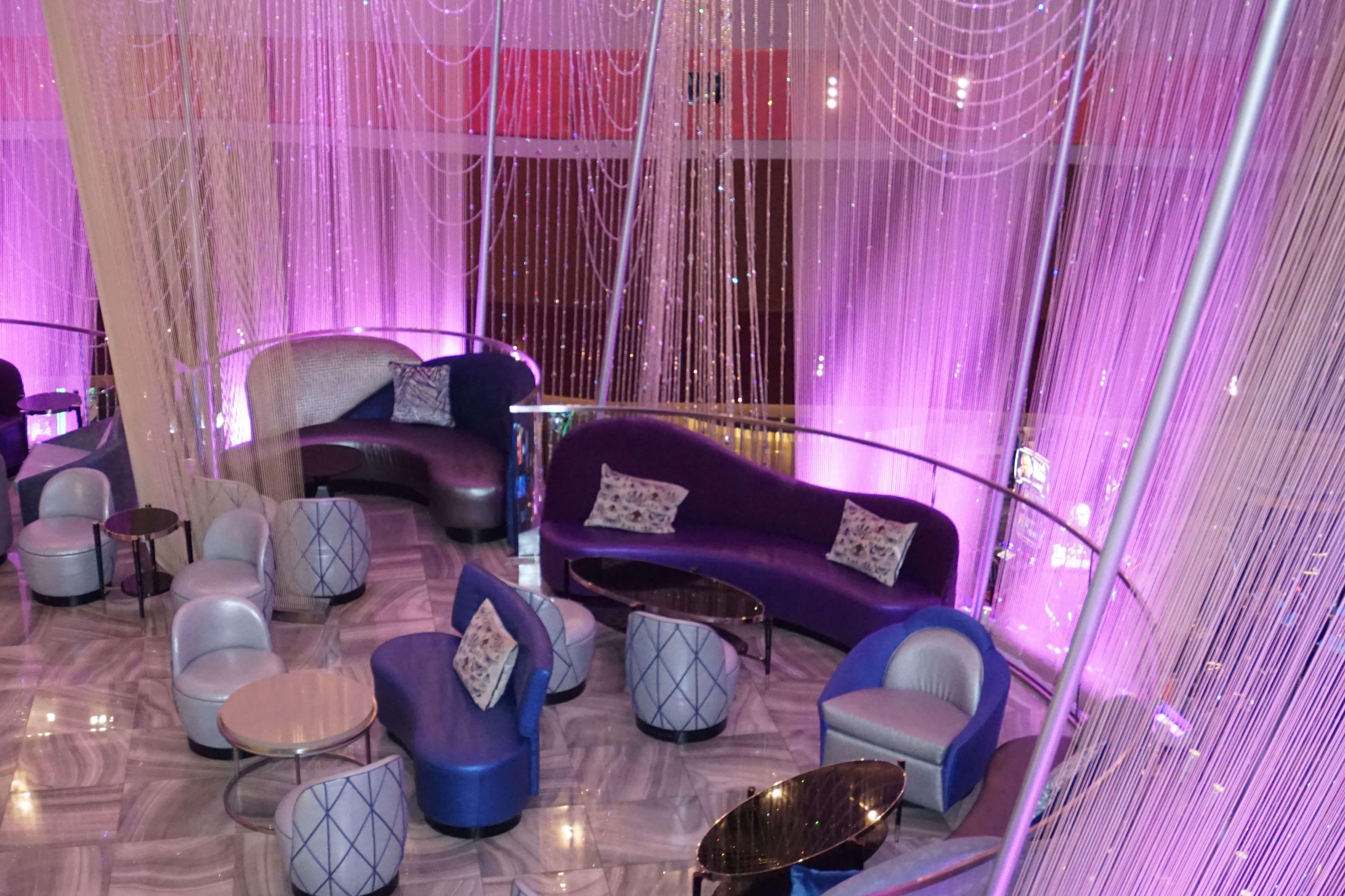 Chandelier Bar at the Cosmopolitan Hotel