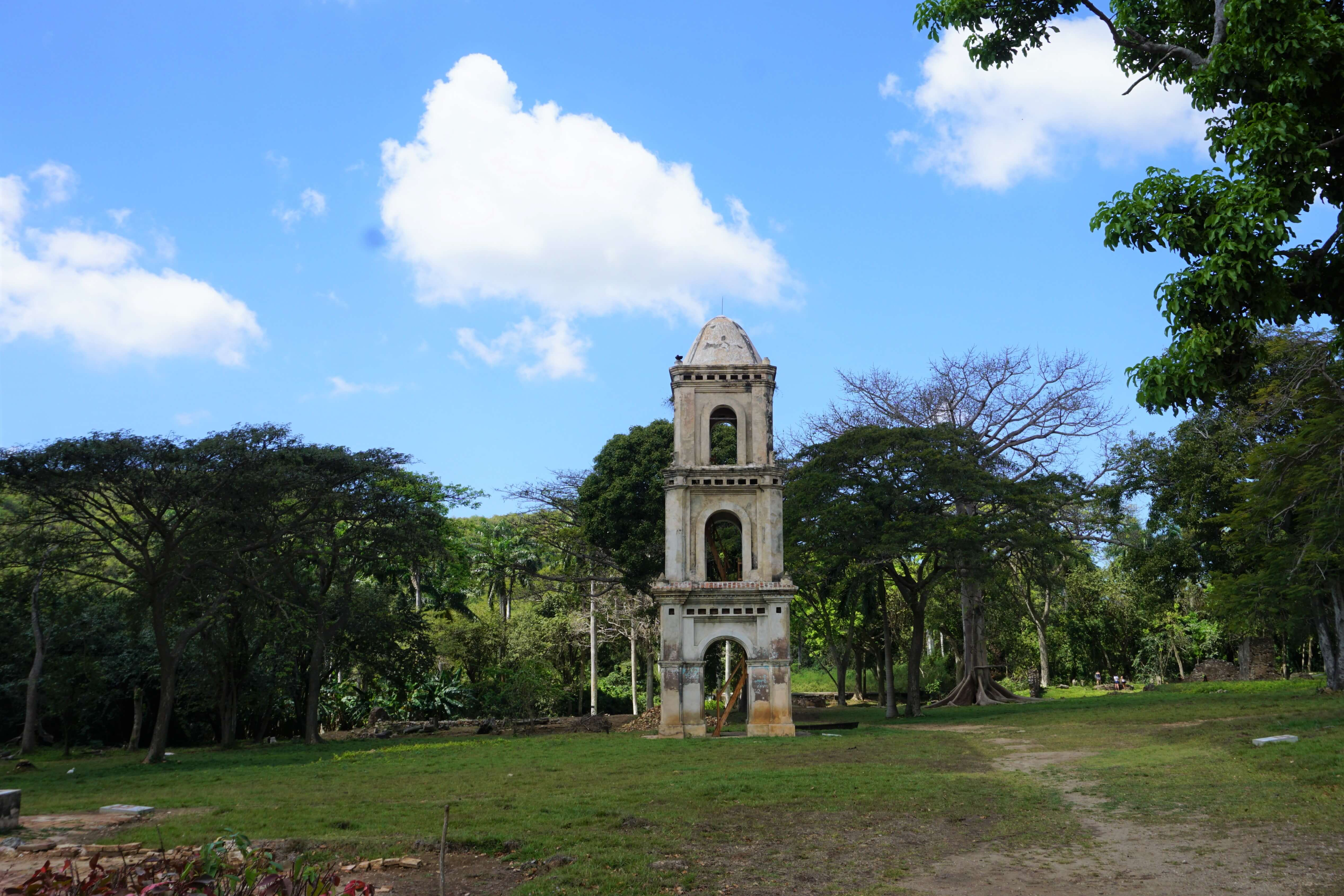 Bell tower of a former sugar cane plantation