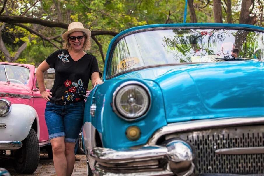 Classic car tour in Havana Cuba