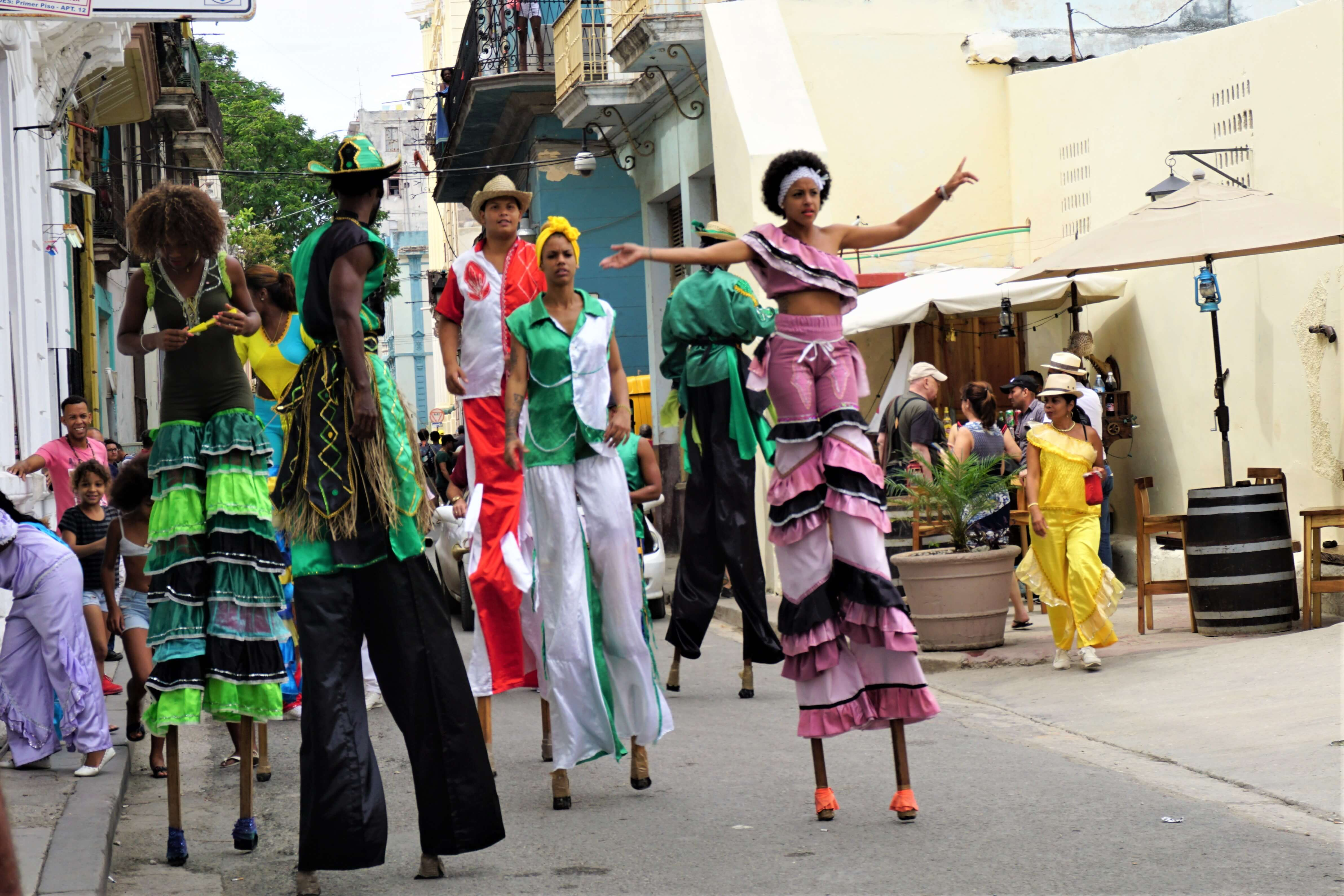 Dance show in Old Havana