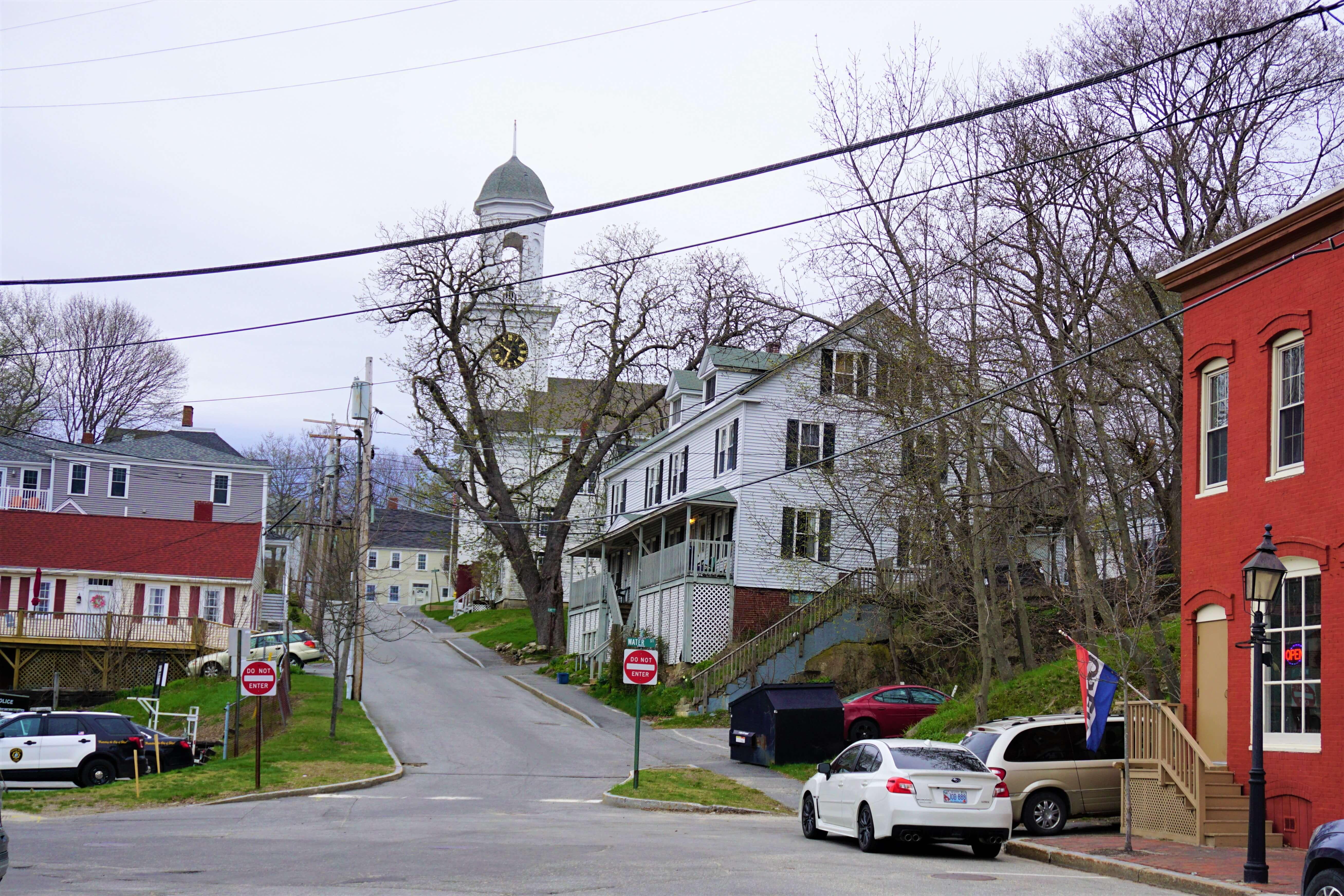 Church in Bath Maine
