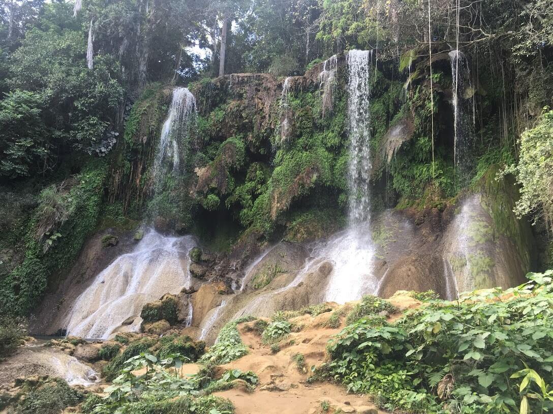 El Nicho National Park near Cienfuegos