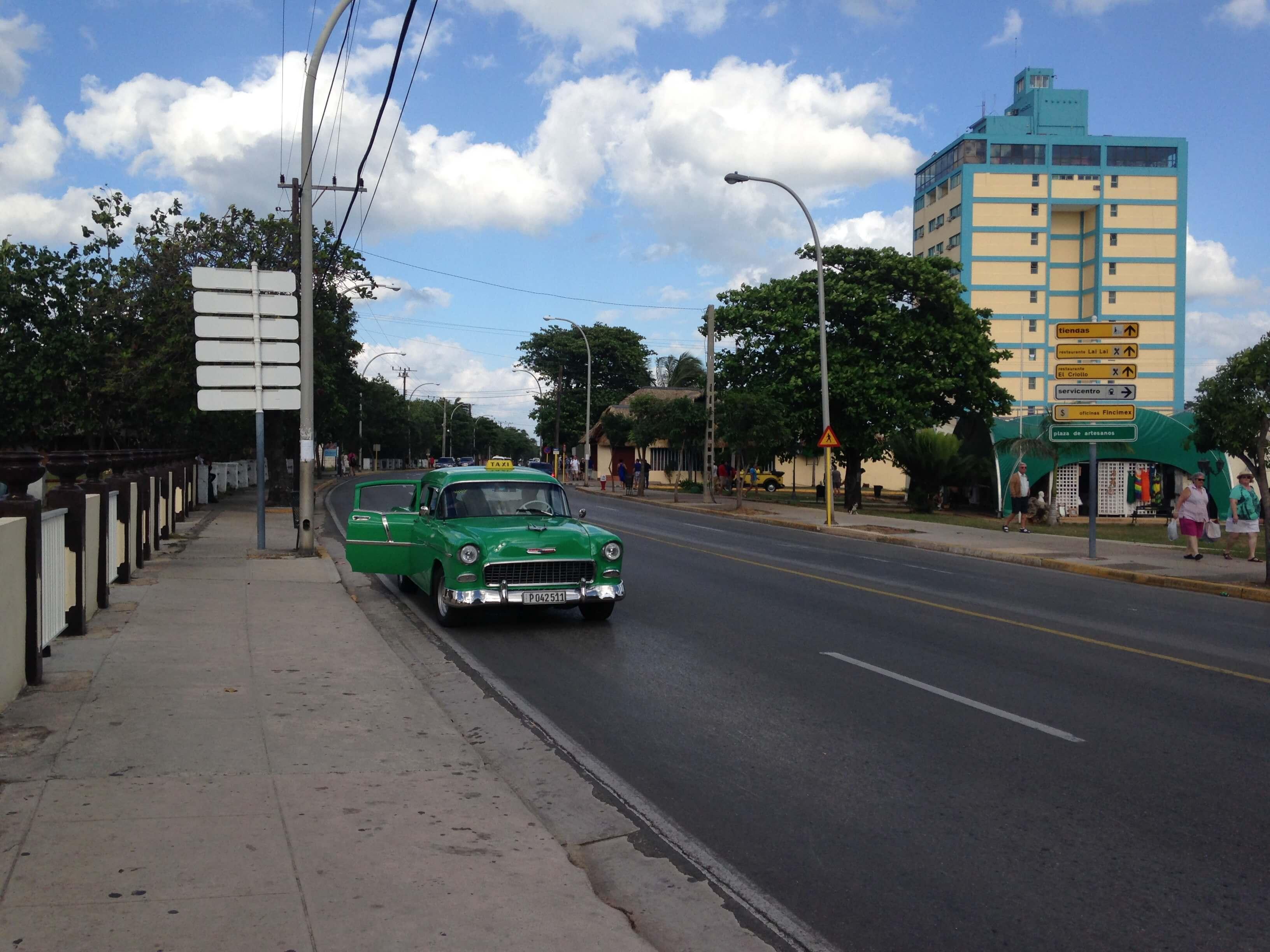 A street in Varadero