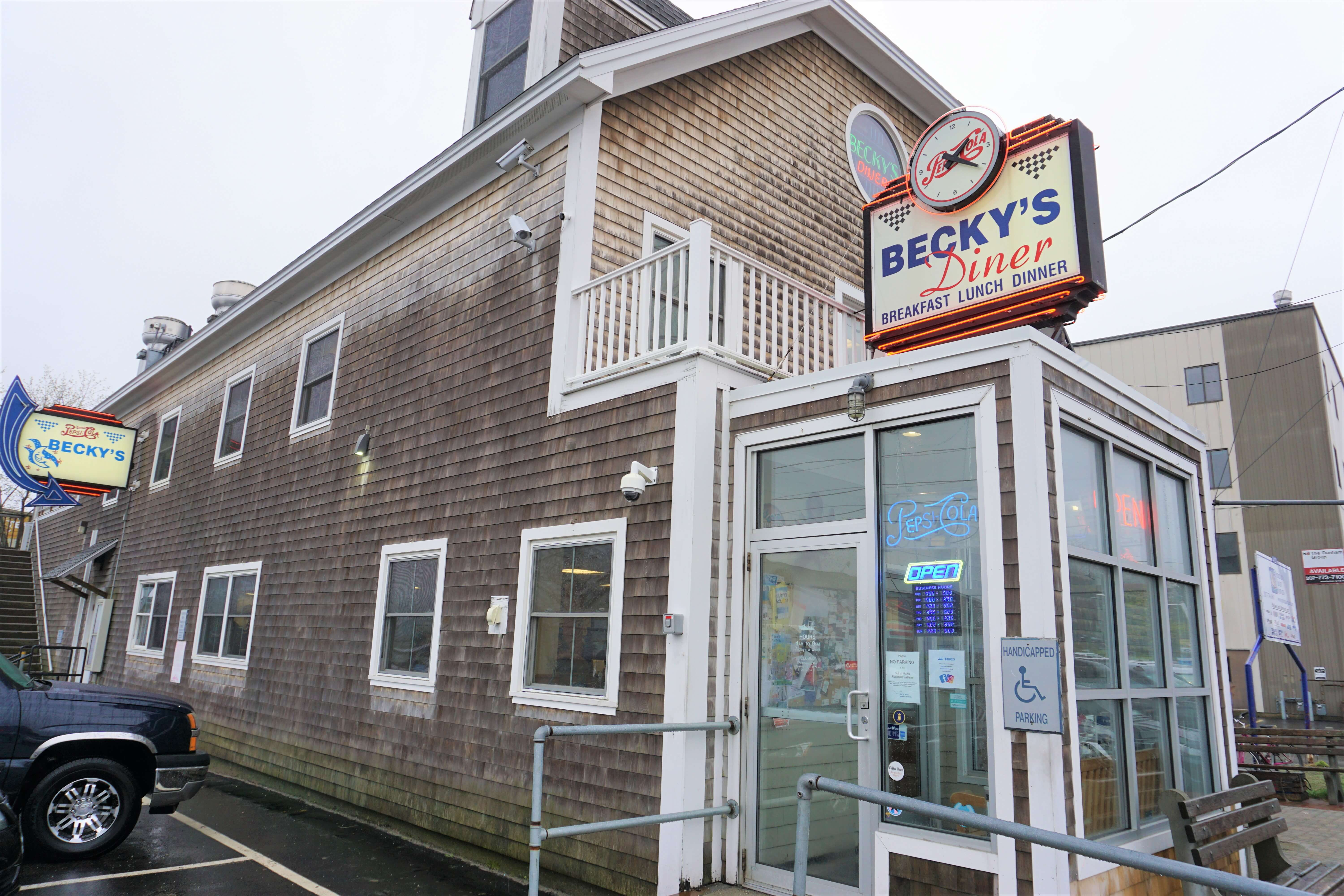 Becky's Diner in Portland Maine