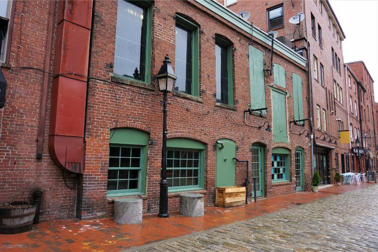 Wharf Street in the Old Port District