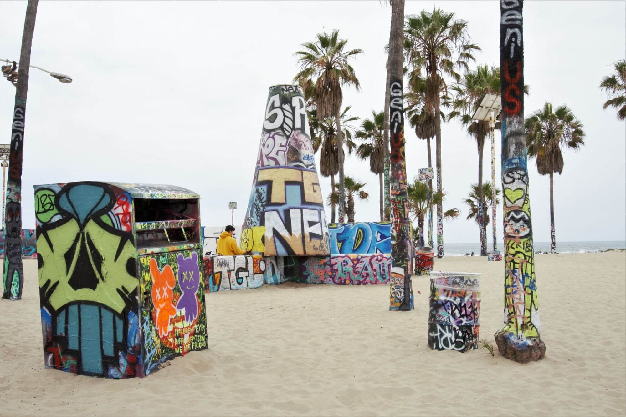 Graffiti art in Venice Beach