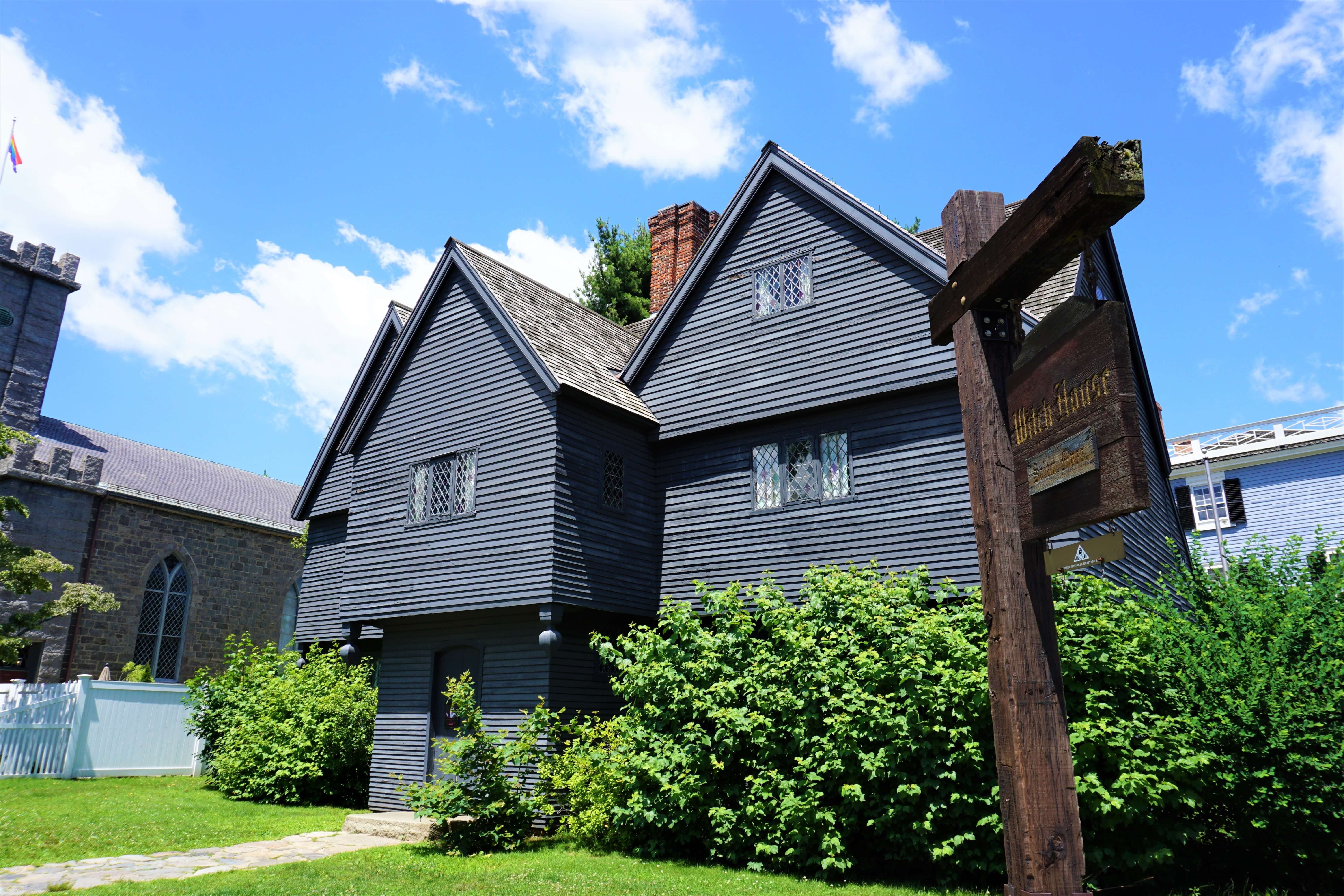 Home of Jonathan Corwin House, a judge in the Salem Witch Trials