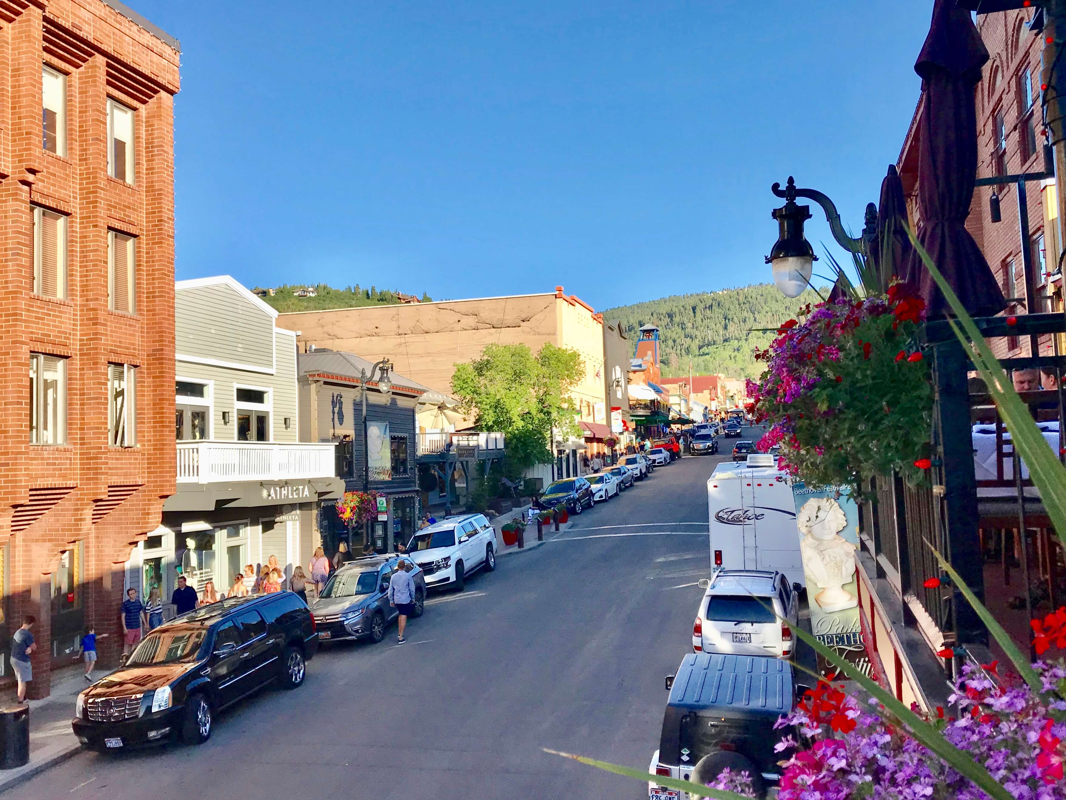 View of Main Street from Wahso Restaurant