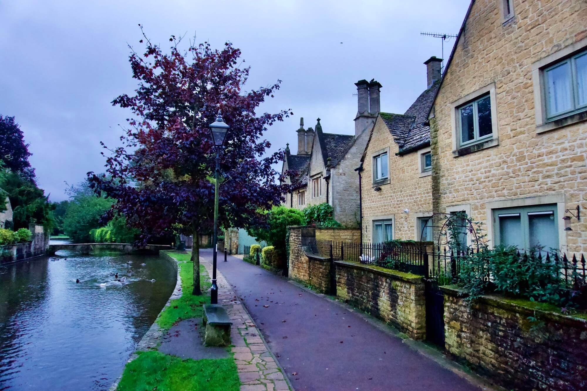 Bourton-on-the-Water, a village in the Cotswolds