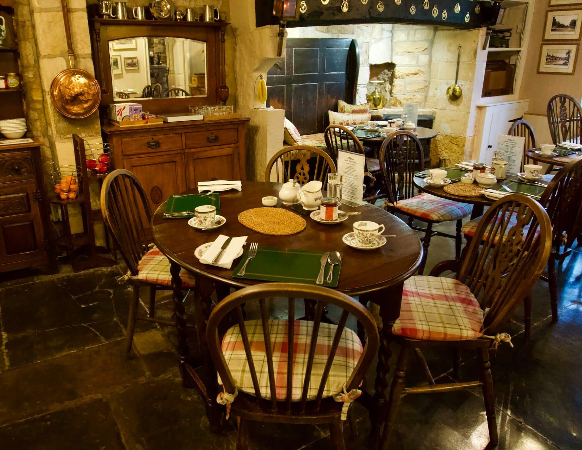 Inside the Olive Branch Bed and Breakfast