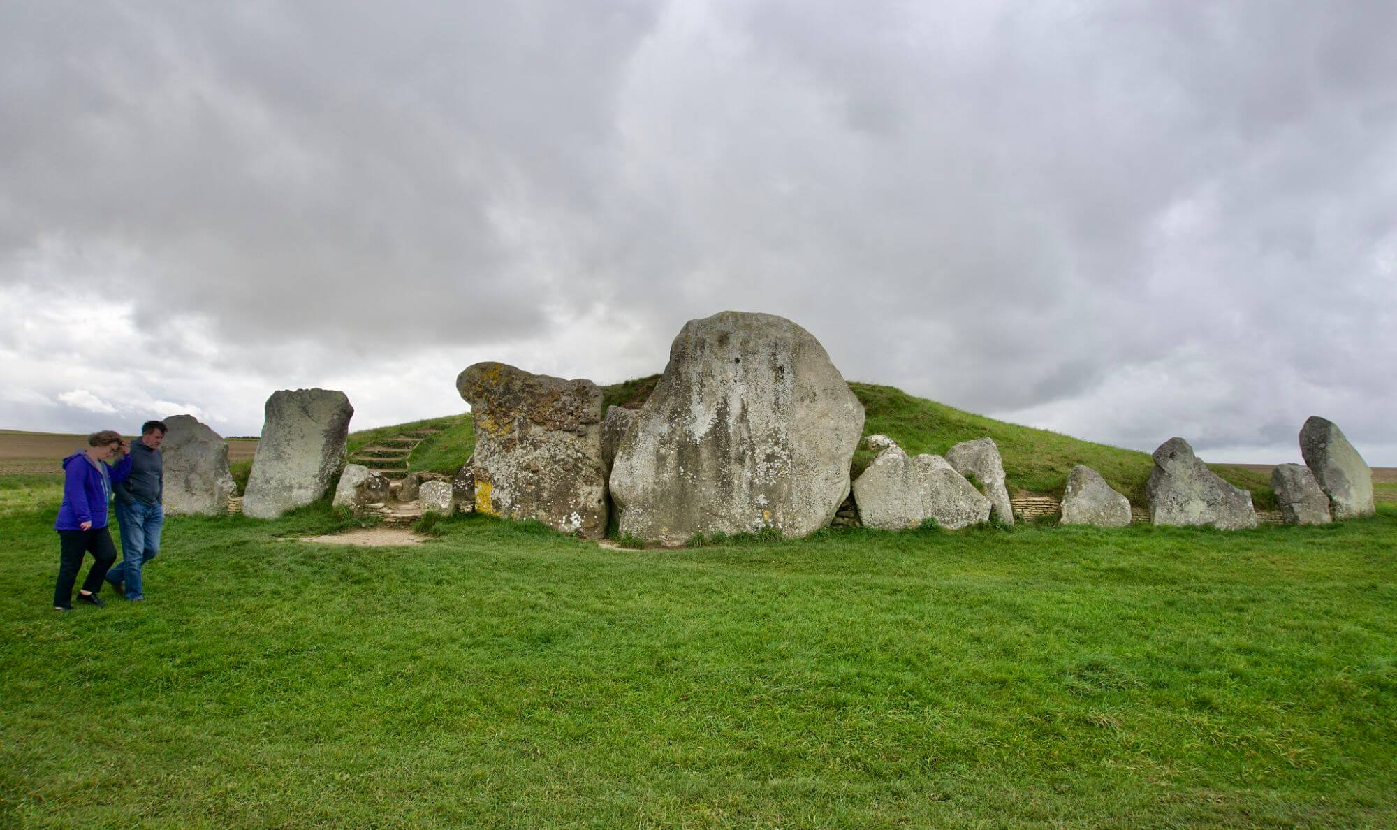 West Kennet Long Barrow in England