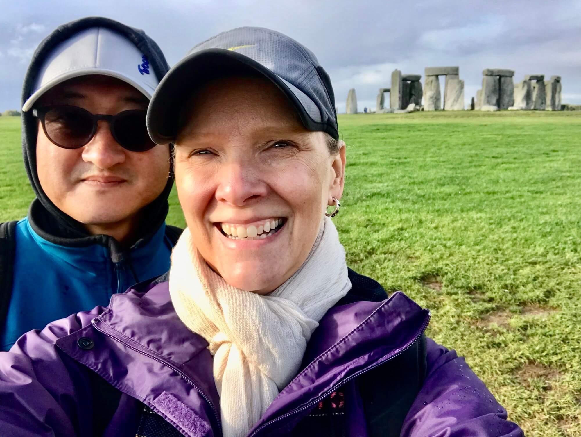 Selfie at Stonehenge