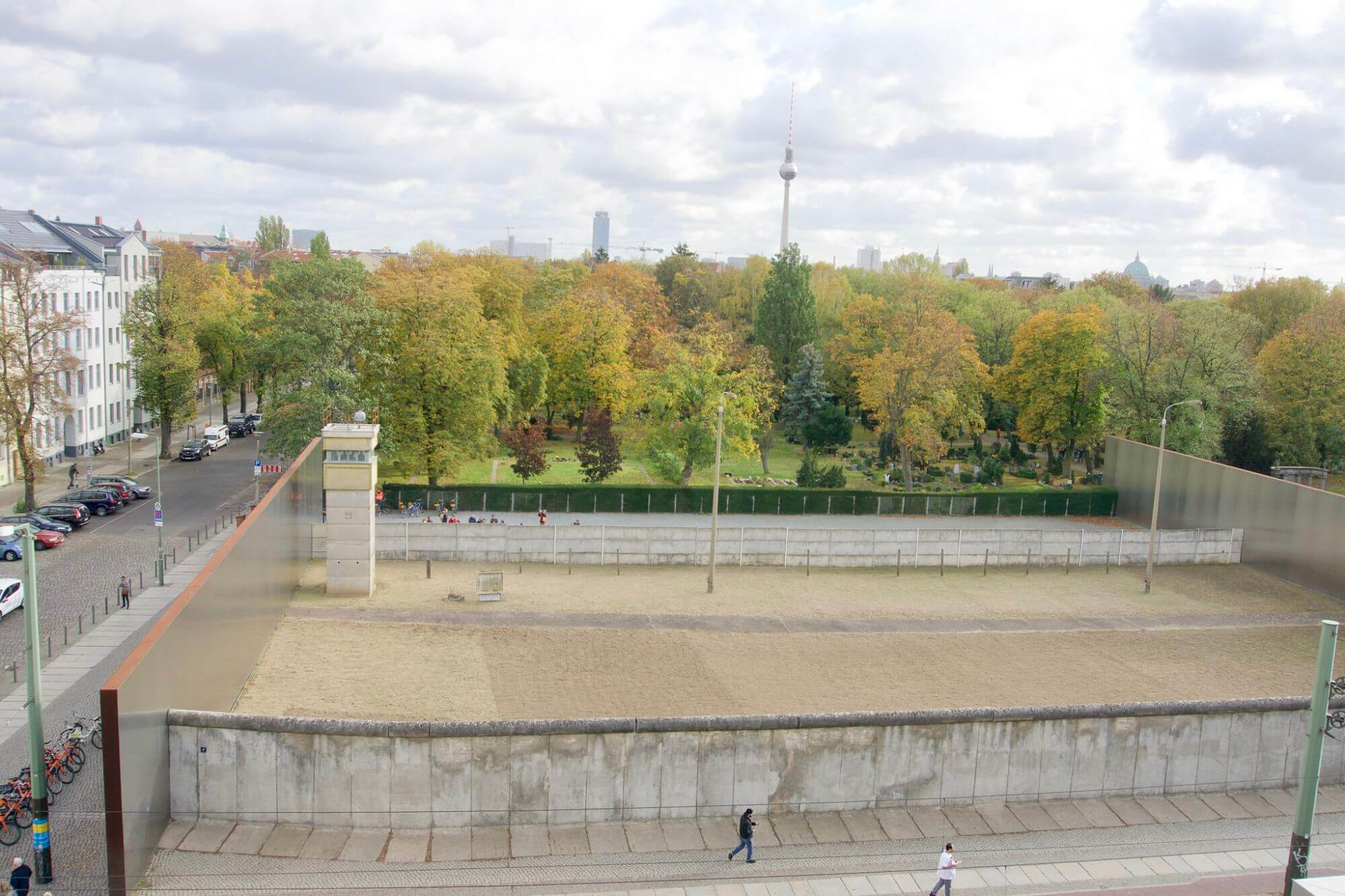 Secure Zone along the Berlin Wall