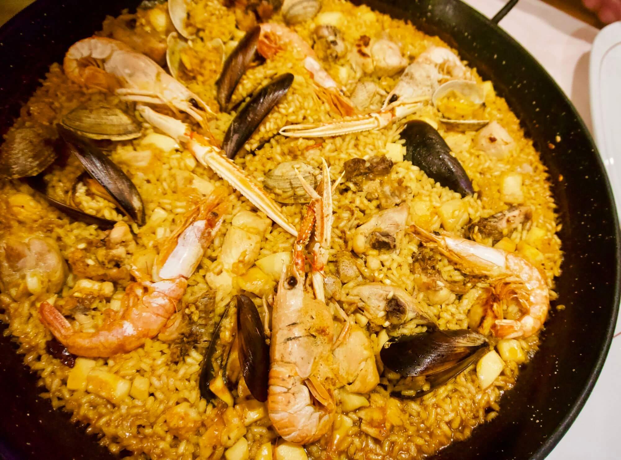 Paella from La Reina de Paella