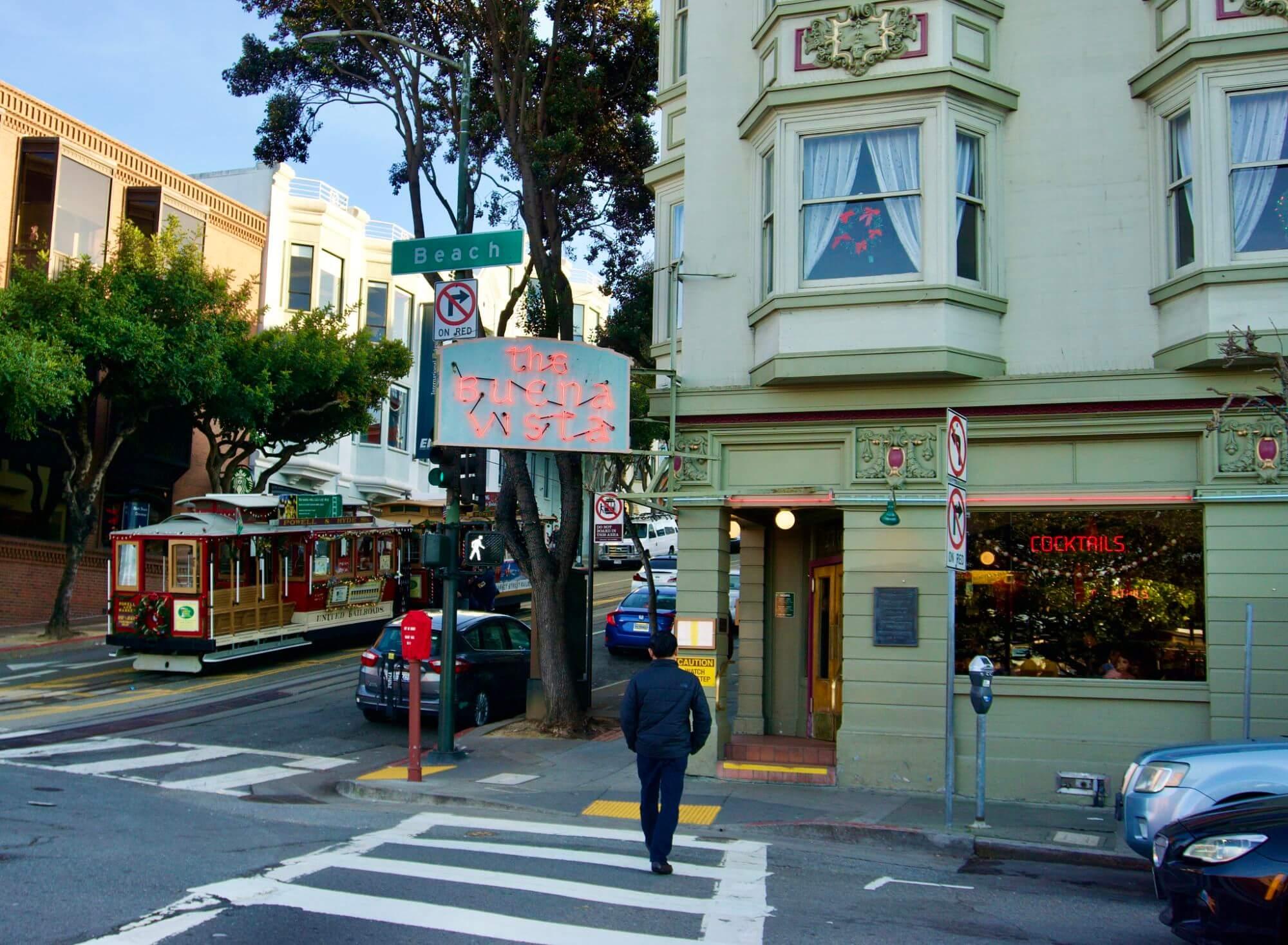 The Buena Vista in San Francisco