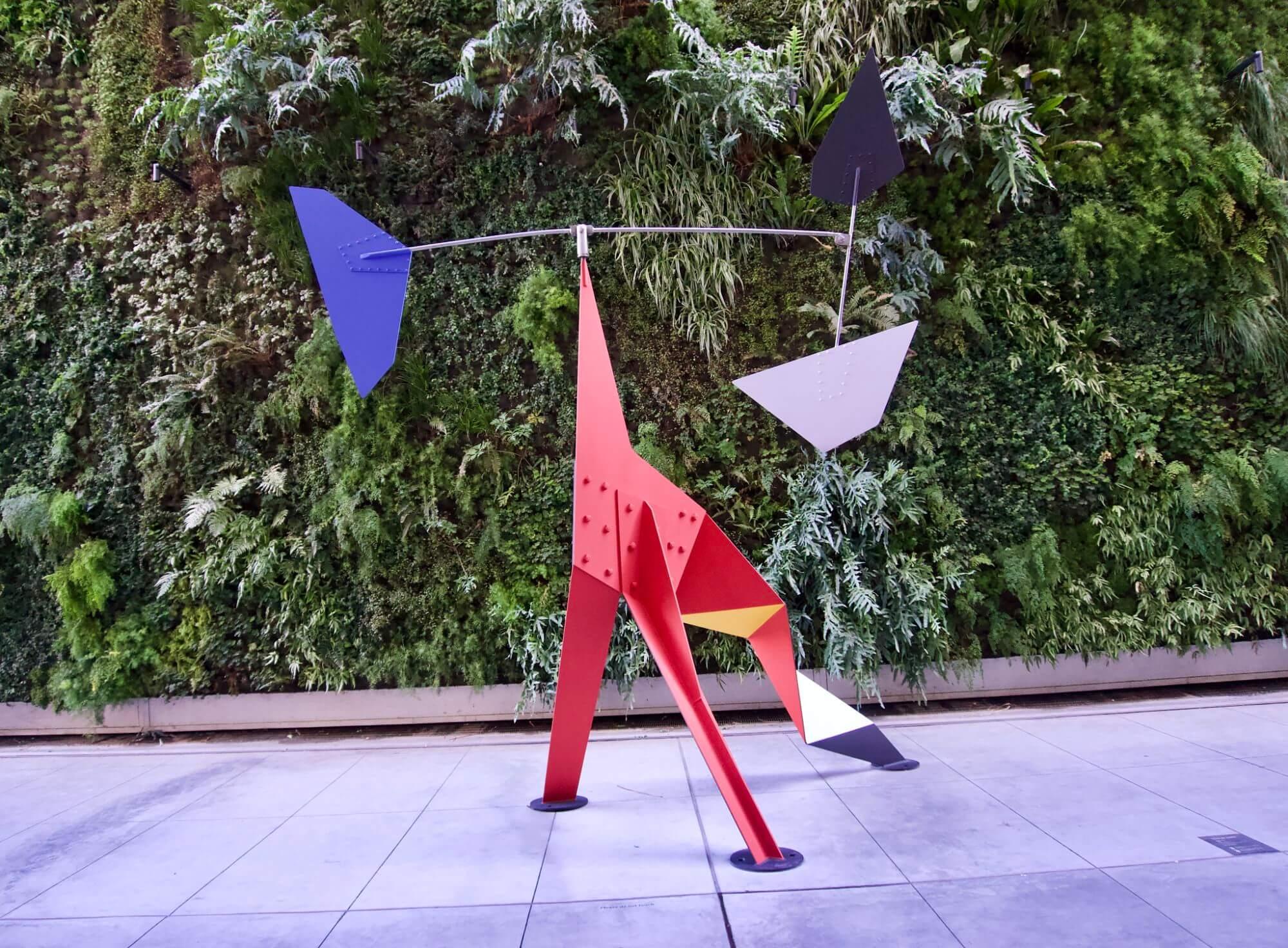 Calder sculpture at San Francisco Museum of Modern Art