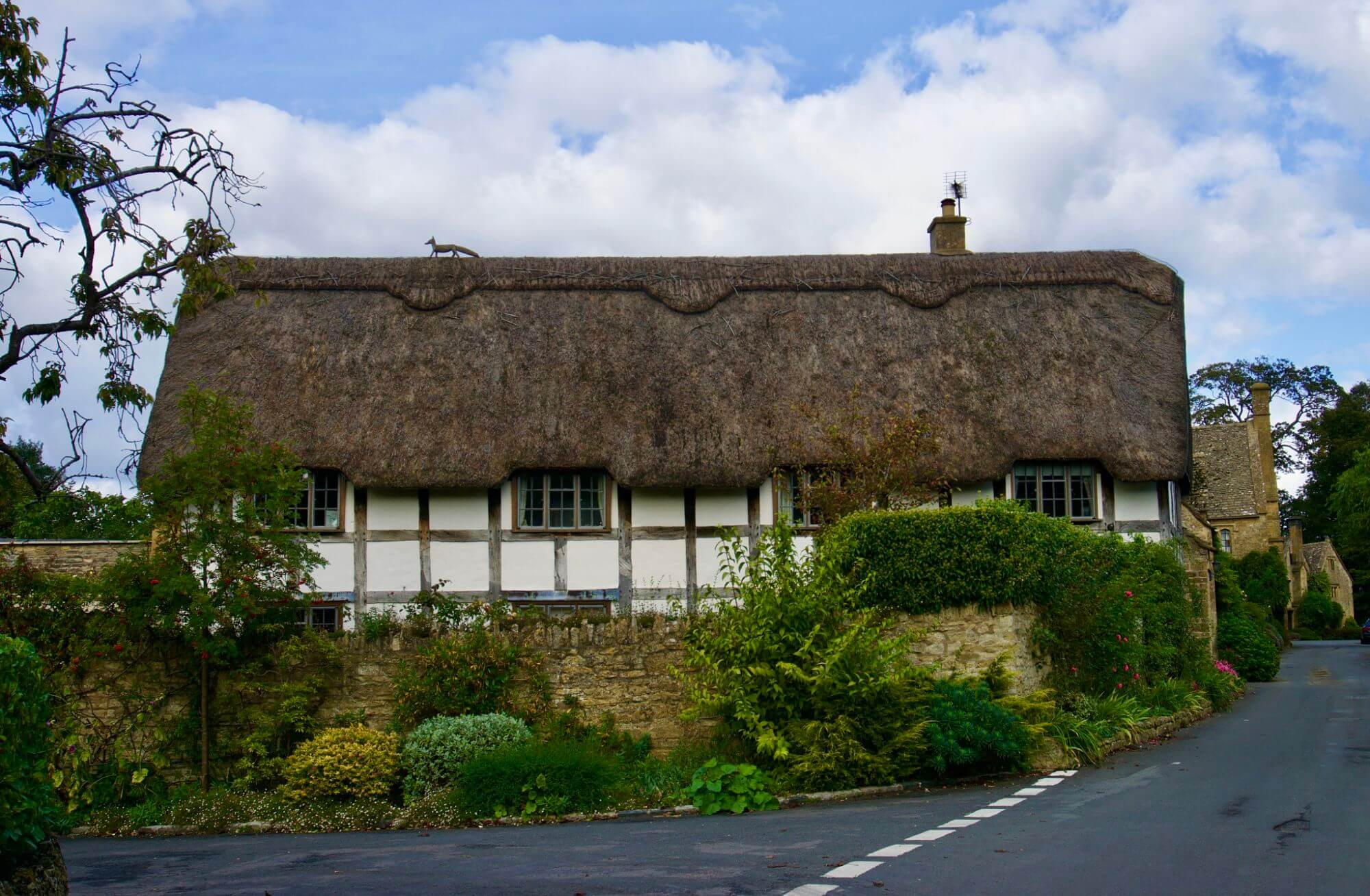 A traditional thatched home in the Cotswolds