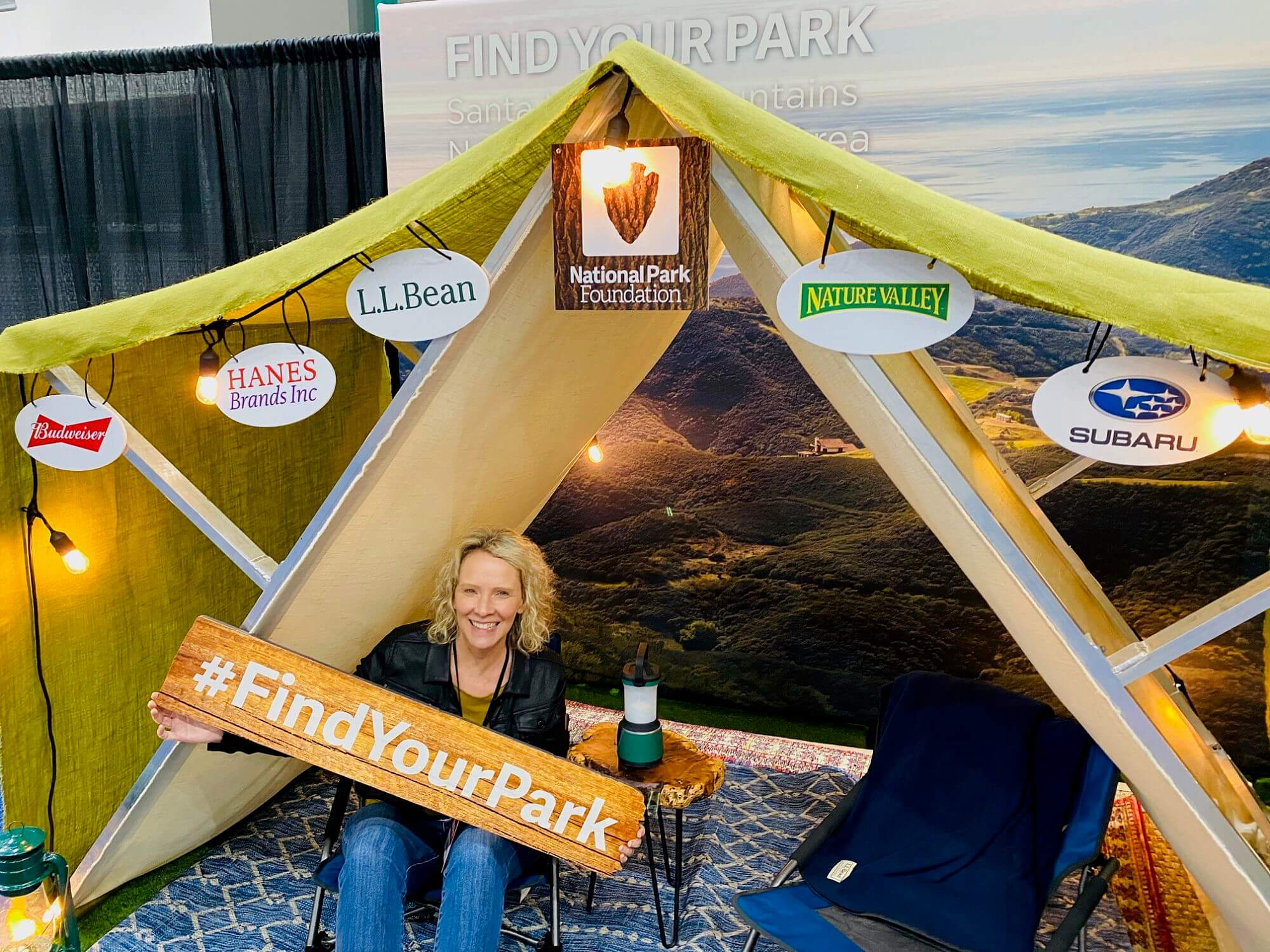Wendy at the Travel and Adventure Show