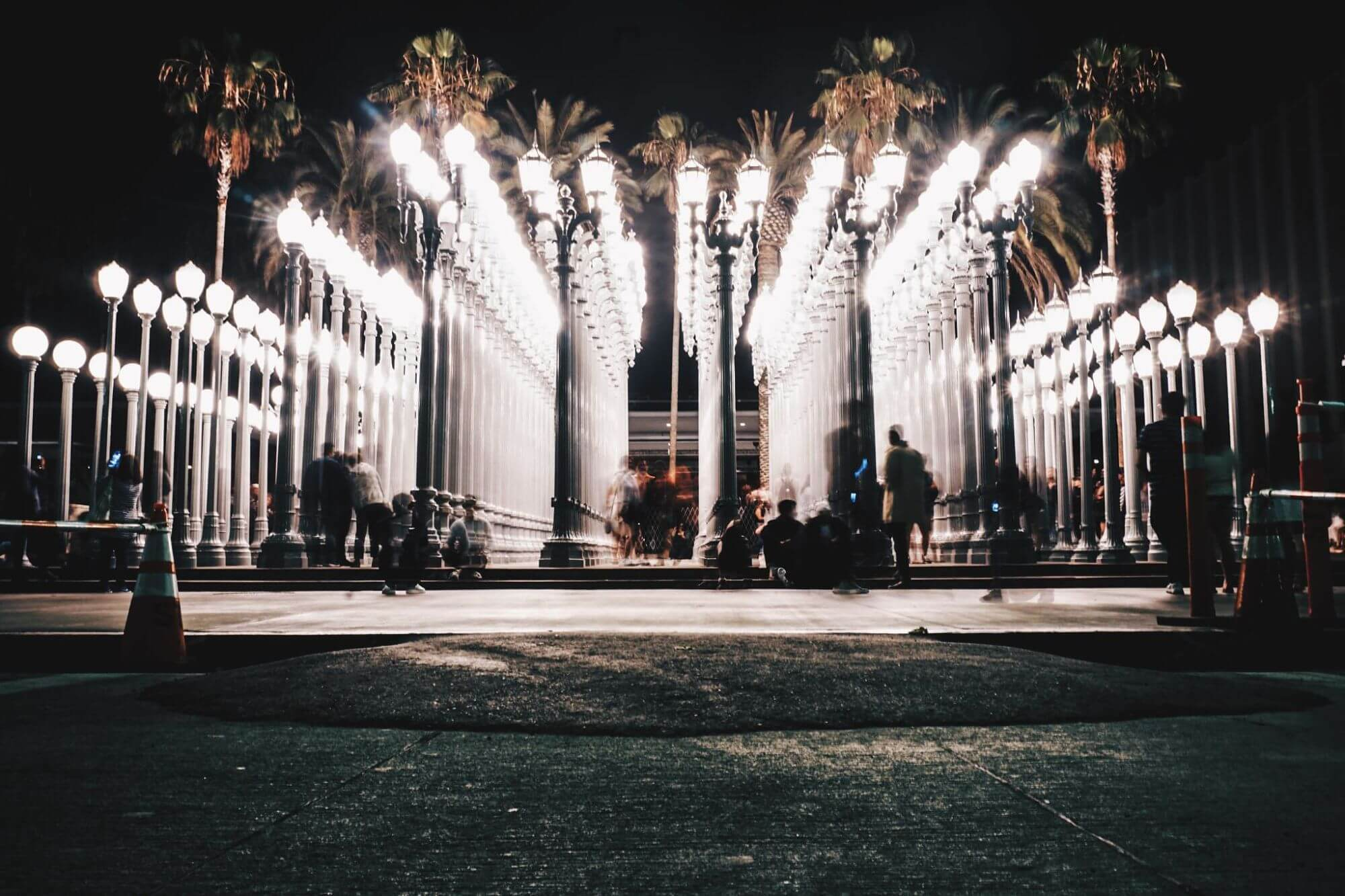 Urban Lights at the Los Angeles County Museum of Art