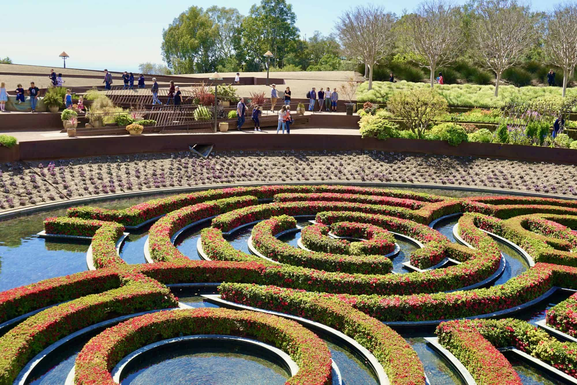 Free Museums in Los Angeles--The Getty Center gardens