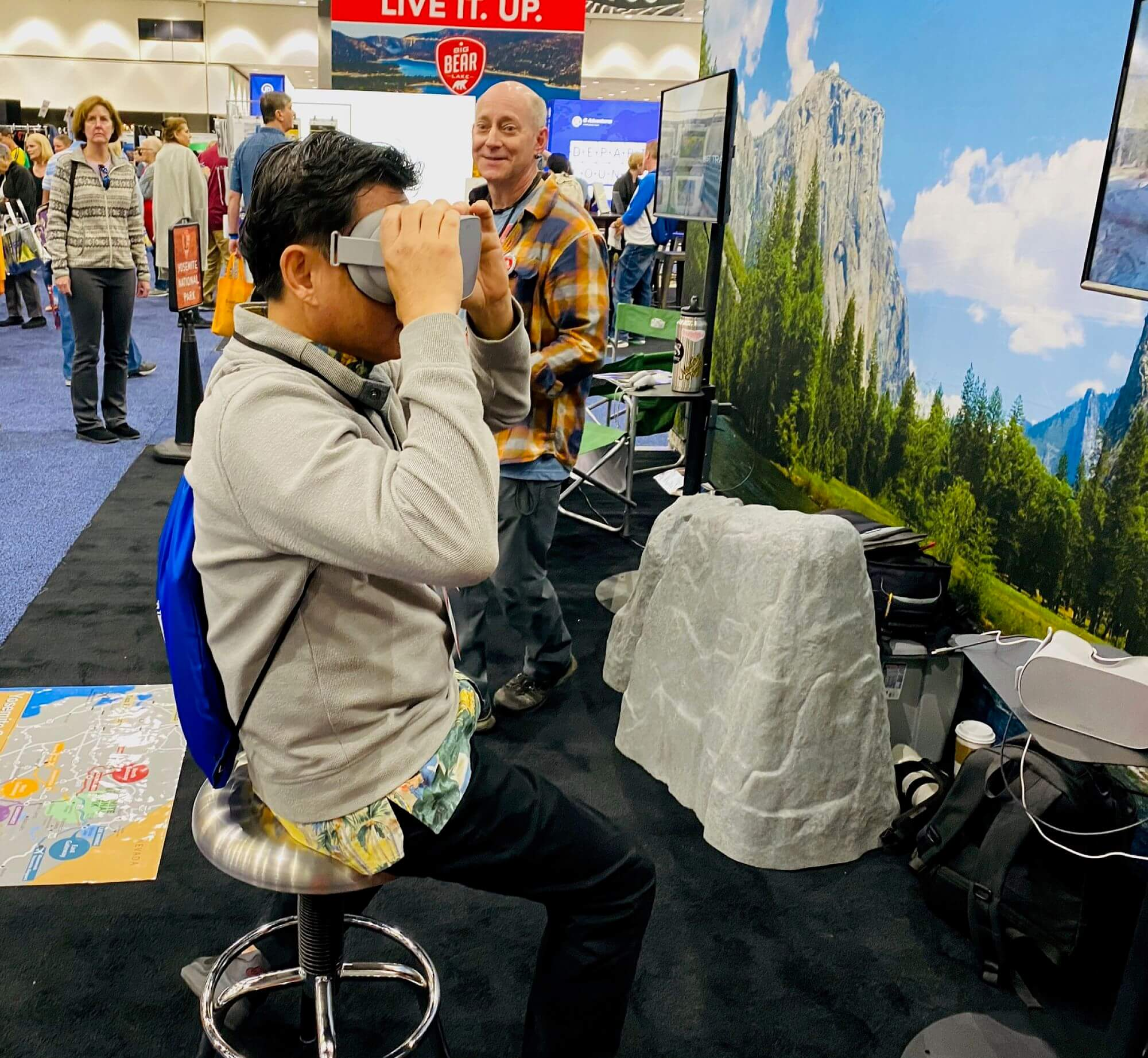 Jason at the Travel and Adventure Show Los Angeles