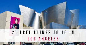 21 Free Things To Do In LA