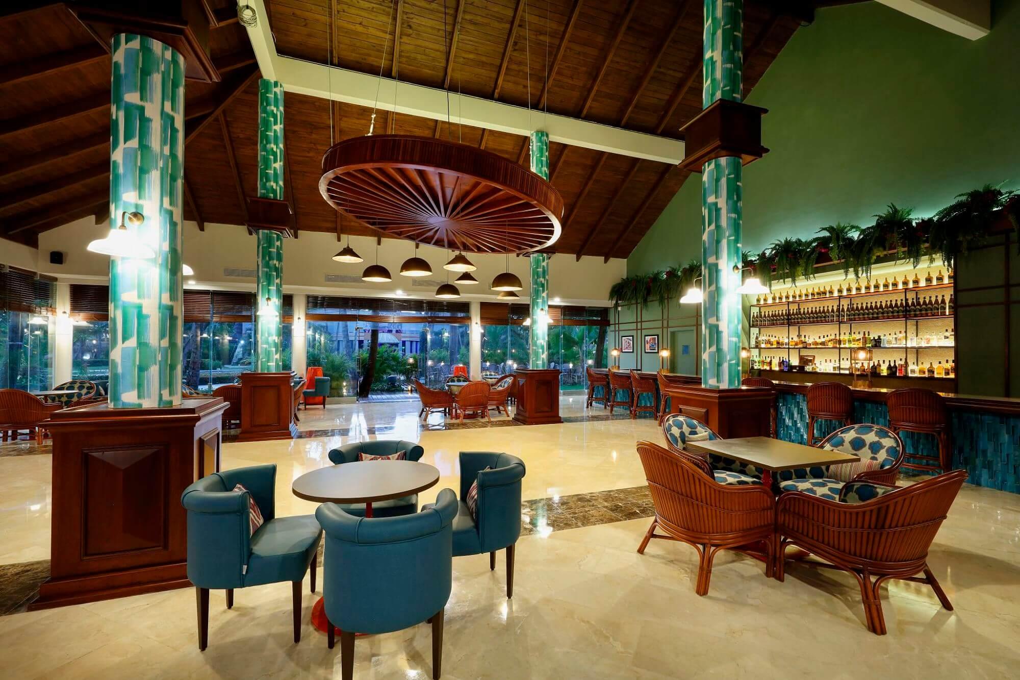 Hemingway Bar at the Grand Palladium Resort