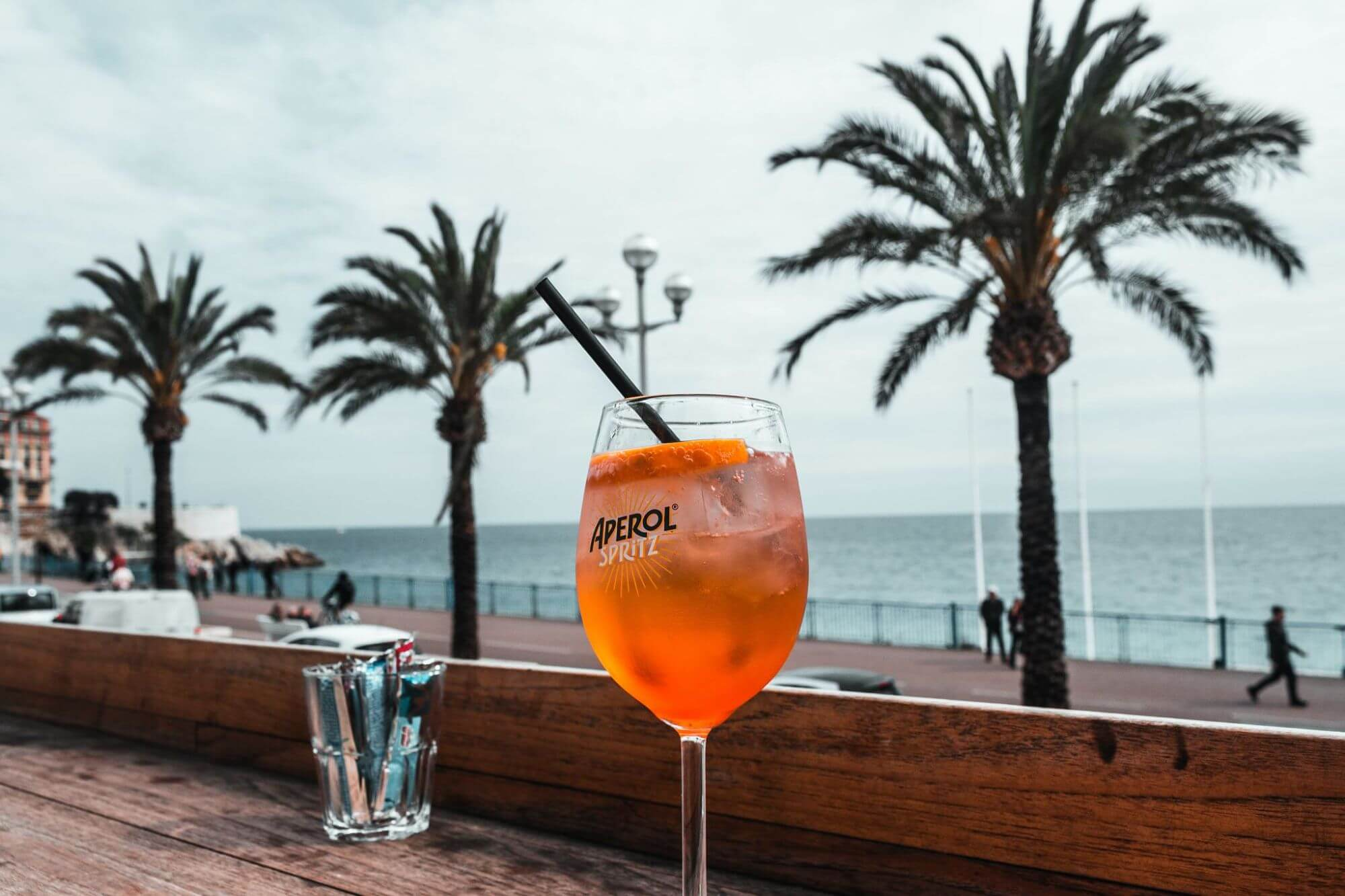 Trip Around the World in 5 Cocktails--Aperol Spritz from Italy