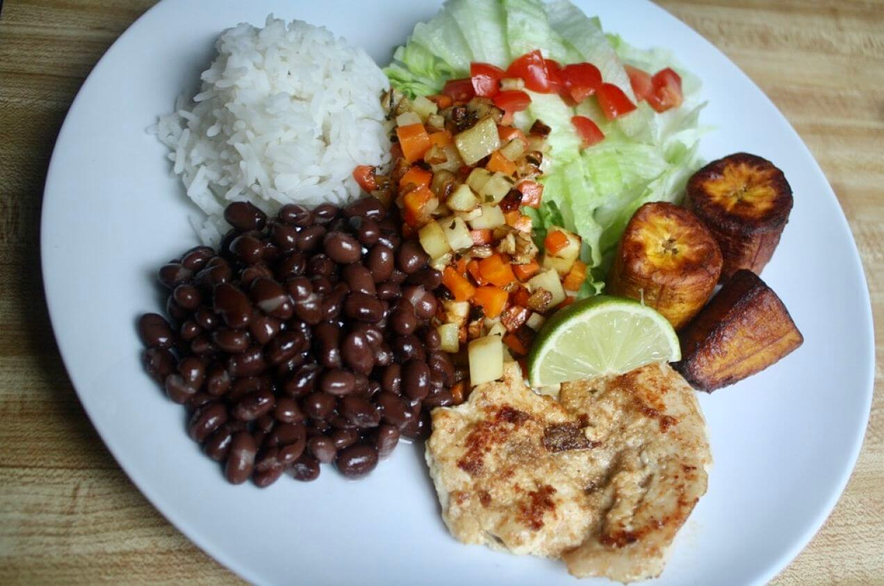 Cooking Around the World--Costa Rican casado