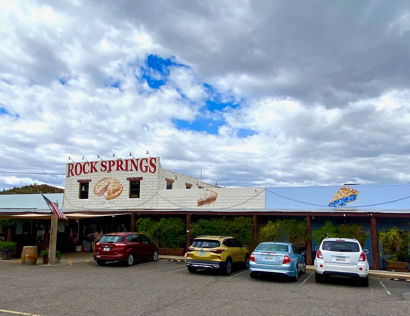 Road trip tips--Rock Springs Cafe in Arizona