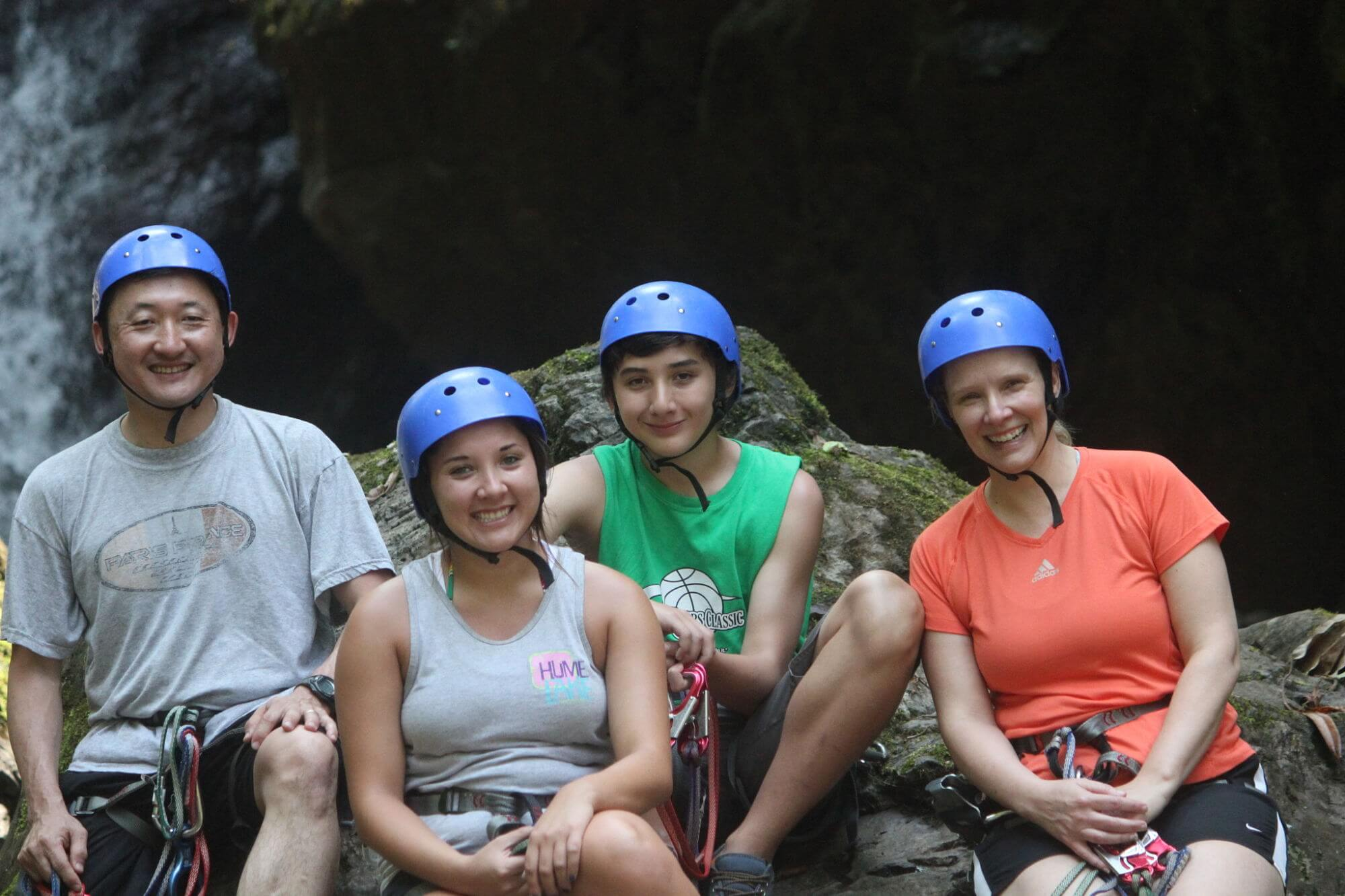 The Lee Family in Costa Rica